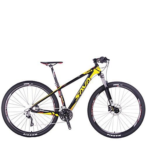 Savadeck Deck 300 Carbon Fiber Mountain Bike 29 Inch Complete Hard