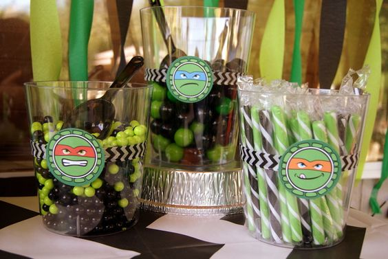 "Photo 1 of 50: Teenage Mutant Ninja Turtles / Birthday ""Go Ninja Go Ninja Go - A Joint Birthday Party"" 