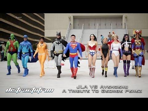 Justice League of America vs. Avengers: A Tribute to George Pérez (Dragon Con 2013)