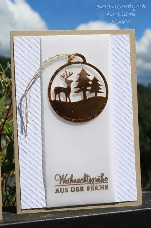Weihnachten stampin'up  Memories-and-more.blogspot.de