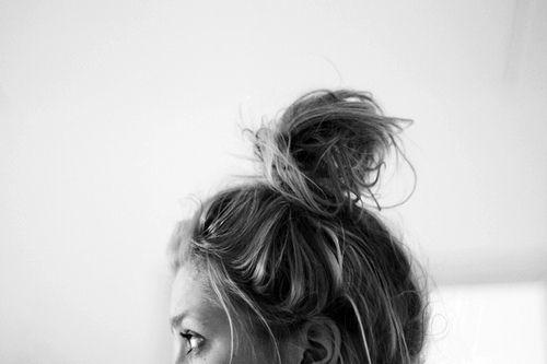 Knot: Hair Beauty, Topknot, Messy Buns, Hairstyle, Hair Style, Top Knot, High Bun