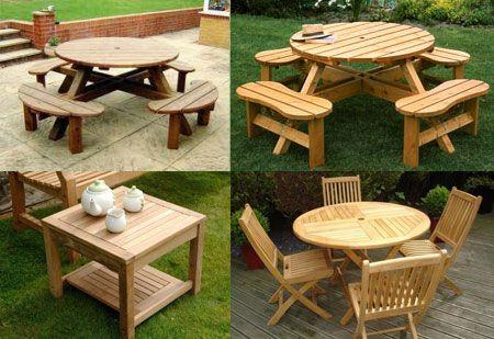 Garden Tables For Nice Barbecue Evenings Buy A Garden Table Now
