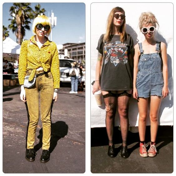 """Los Angeles street style #RoseBowlFleaMarket #LA #StreetStyle #denim #overall #onepiece #fashion #trends #LosAngeles"" Photo taken by @maksandblaze on Instagram, pinned via the InstaPin iOS App! http://www.instapinapp.com (03/18/2015)"