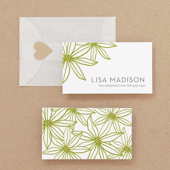 DIY Printable Business Card