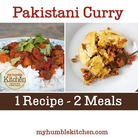 Curry – The filling is rich and savory, made with ground beef ...