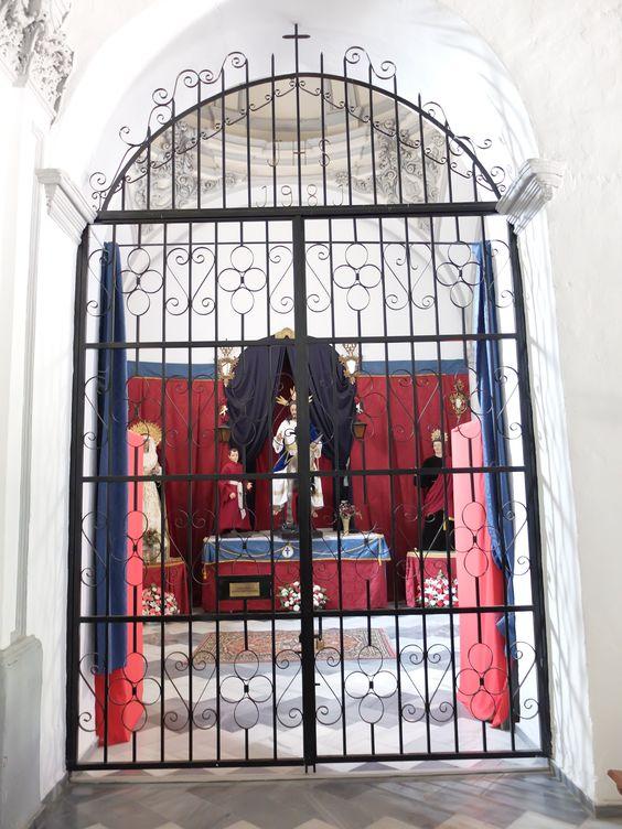 Santuario de Nuestra Señora de las Flores. capilla lado epístola