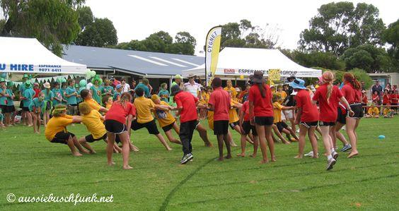 Sportskarneval in australischen Schulen