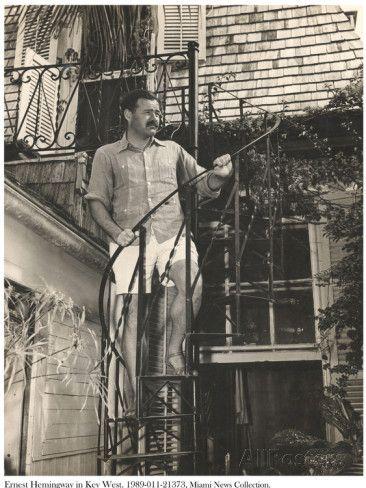 Ernest Hemingway In Key West Key West Keys And Ernest