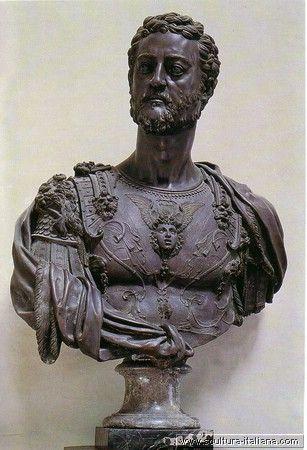 benvenuto cellini | Benvenuto Cellini. Busto di Cosimo I Museo Nazionale del Bargello, Florence, 1546-47.