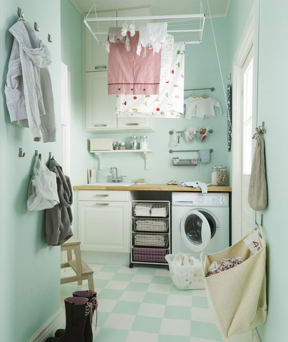 IKEA Banyo - Küçük metrekarelere büyük çözümler