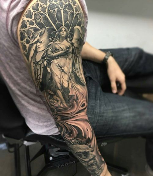 125 Best Half Sleeve Tattoos For Men Cool Designs Ideas 2019 Guide In 2020 Tattoos For Guys Badass Cool Tattoos For Guys Tattoo Sleeve Designs
