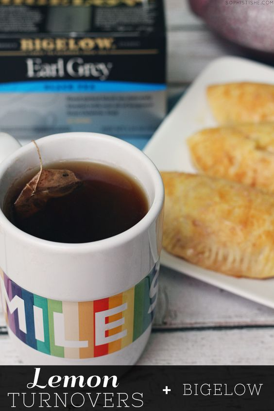 Lemon Turnovers + Bigelow Tea  via @Sheena Birt Tatum (Sophistishe.com) #AmericasTea #shop #cbias