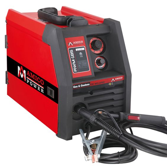 The AMICO Power AWM-185 Welding is the perfect choice to do projects and repairs around the home, farm and shop. This MIG welder will produce a cleaner bead with less splatter than a regular flux core