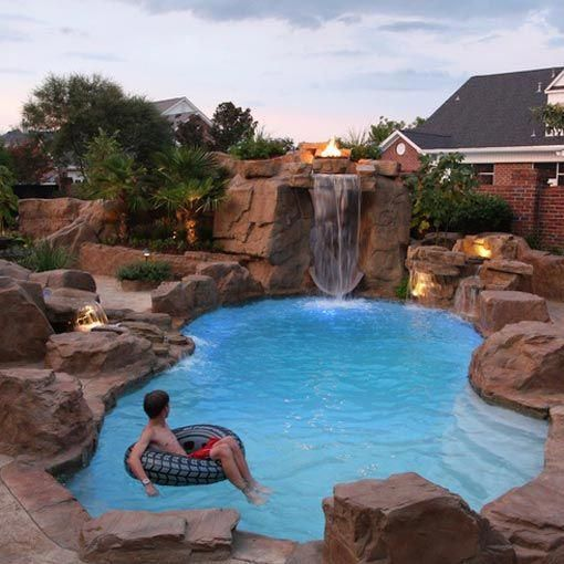 Small And Best Backyard Pool Landscaping Ideas Met Afbeeldingen