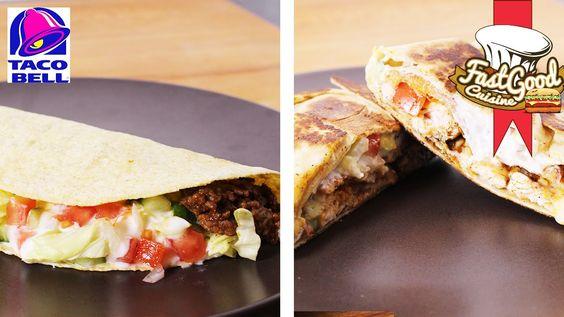 Recette Taco Bell : Taco Vs Crunchy wrap