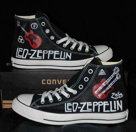 Led Zeppelin Converse