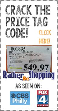 Retailer's Big Secret: Crack the Price Tag Code As seen on Channel4 today!!!!  Learn the tricks to reading sales tags and signs at the major stores!!!!
