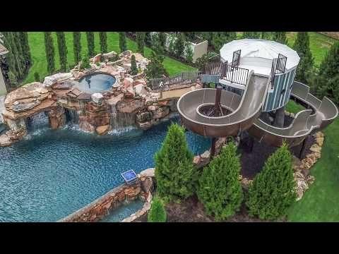 Tampa Pool Builder Lucas Lagoons Insane Pools From Mild To Wild Youtube Dream Backyard Pool Backyard Pool Designs Dream Pool Area