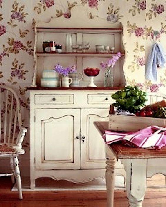 Laura Ashley Kitchen Wallpaper: Home Decor