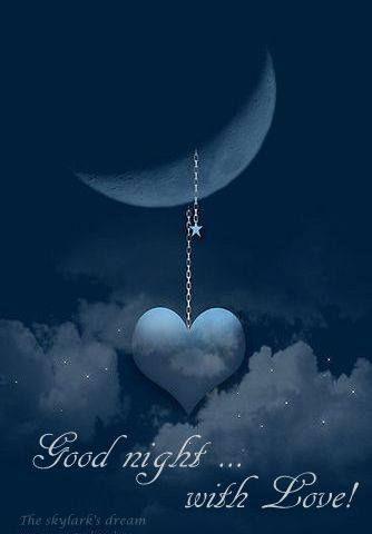 Buona notte! Buenas noches! Sweet dreams!