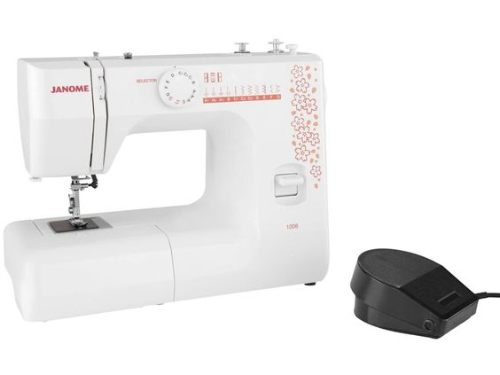 Máquina de Costura Janome 1006 Mecânica - Máquinas de Costura - Magazine Luiza