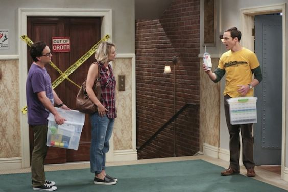 First Look: Change Isn't Always Easy On The Big Bang Theory  Sheldon speaks with Penny and Leonard about their current living situation