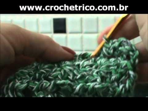 ▶ Crochê - Tapete Verde em Barbante - 02/02 - YouTube