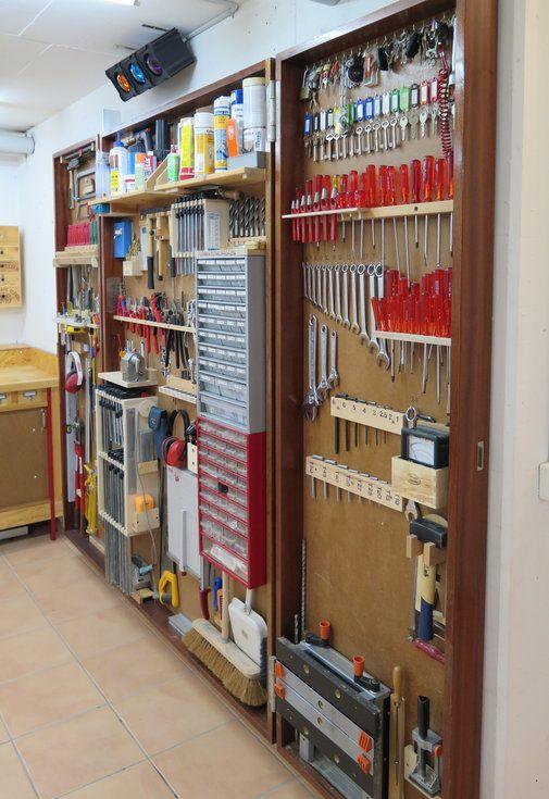 What A Great Tool Wall   Reorganize Your Working Place /// Was Für Eine. Garage  StorageTool ...