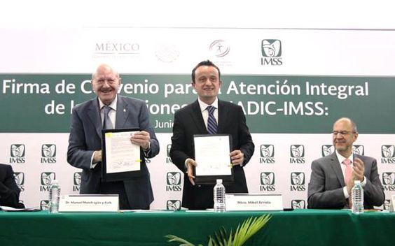 IMSS y CONADIC firman convenio para la atención integral de las adicciones - http://plenilunia.com/noticias-2/imss-y-conadic-firman-convenio-para-la-atencion-integral-de-las-adicciones/40861/