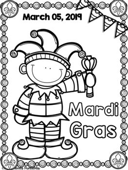 Mardi Gras Coloring Sheets With Mrs Lendahand Mardi Gras Activities Mardi Gras Lessons Mardi Gras Crafts