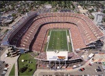 Mile High Stadium on Game Day!