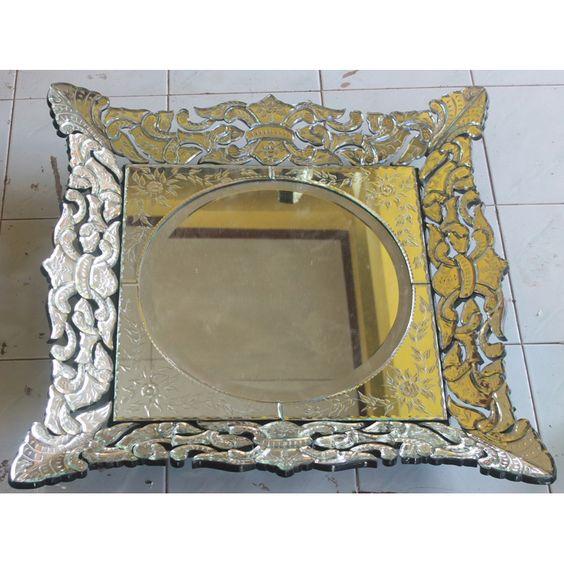 Venetian Mirror Square MG 002063
