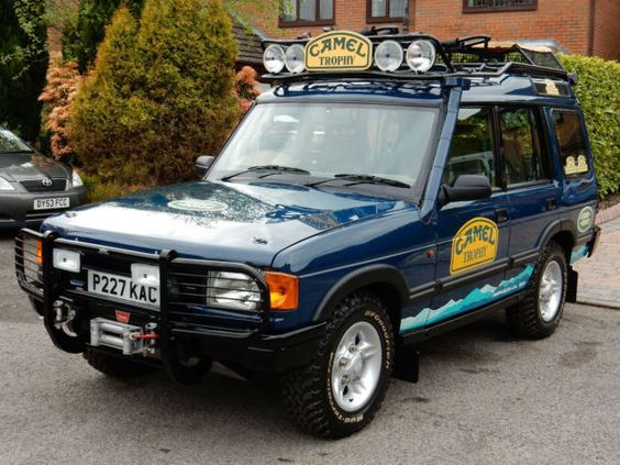 1996 Land Rover Discovery 300tdi Rare Genuine Camel Trophy