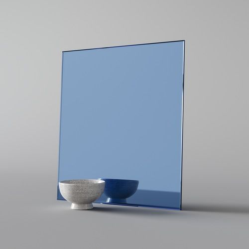 A Lighter Blue Glass Mirror You Can See Our Whole Collection Of