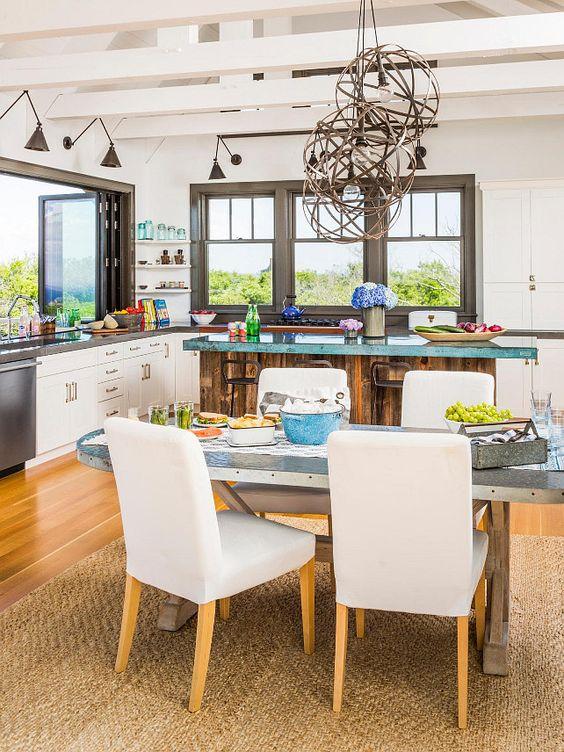 Coastal kitchens interior design and kitchens on pinterest
