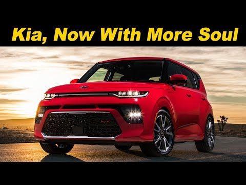 2020 Kia Soul First Look Turbo X Line And Electric Youtube Kia Soul Kia Awd Cars