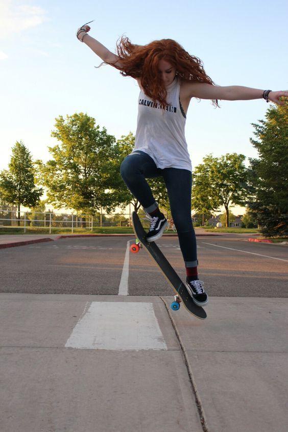 Skater Girl Ollie Skate With Images Skater Girl Outfits