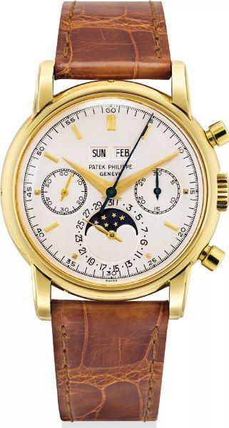 Patek Philippe Ref. 2499 18k Gold Perpetual Calendar Chronograph