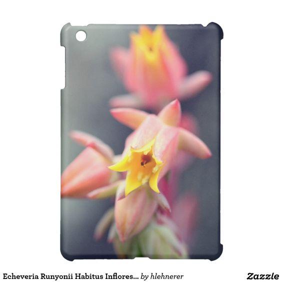 I think that it is more beautiful than the Mini-ipad.---Echeveria Runyonii Habitus Inflorescences iPad Mini Cases