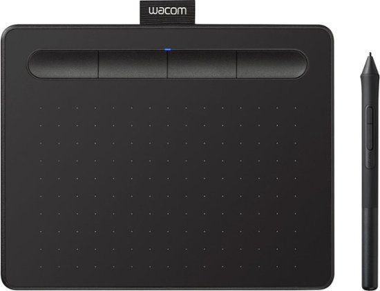 Wacom Intuos Drawing Tablet Small With 3 Bonus Software Included