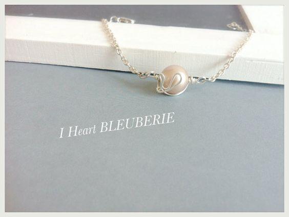 Lovely wire work heart bracelet heart bracelet by Bleuberie, $18.00