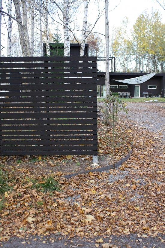 sektioner plank staket svart - Sök på Google | Trädgård ...