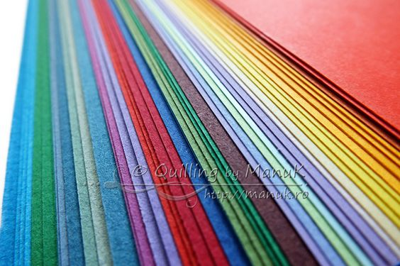 Paper quilling faq how to choose between different paper for How to use quilling strips