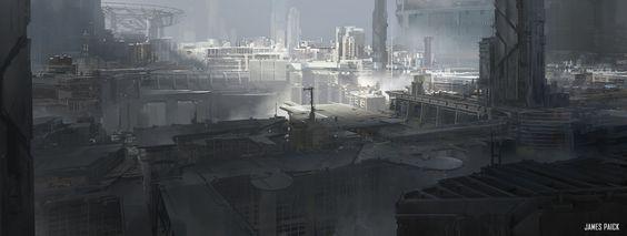ArtStation - Class Demo - Environment Design, James Paick