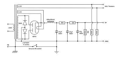 vinylsavor the octal line preamplifier part 2 power. Black Bedroom Furniture Sets. Home Design Ideas