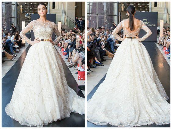 Desfile Lucas Anderi - Vestido de noiva clássico