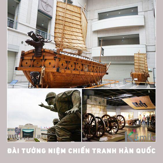 Bảo tàng tưởng niệm chiến tranh Triều Tiên Ảnh: visitkorea.org.vn