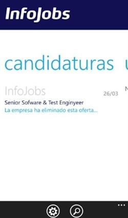 Infojobs lanza su aplicación para Windows Phone  http://www.europapress.es/portaltic/movilidad/software/noticia-infojobs-lanza-aplicacion-windows-phone-20120612112359.html