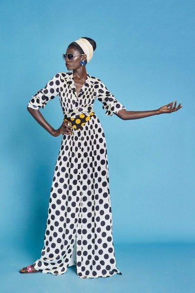 View the complete Duro Olowu Spring 2017 collection from London Fashion Week.: