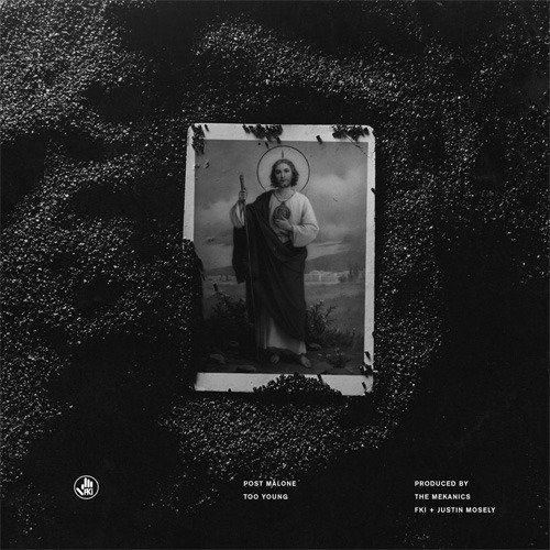 Post Malone – Too Young (single cover art)